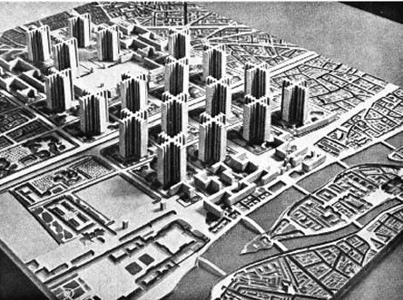Plan-Voisin par Le Corbusier SOURCE INCONNUE
