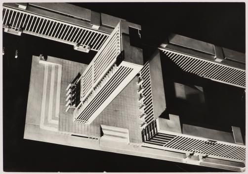 Vue d'une maquette Sverdlovsk Union soviétique