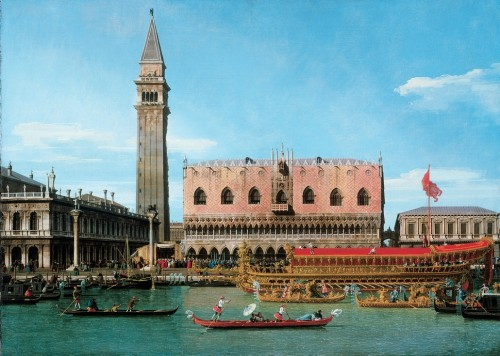 Canaletto retour Bucentaure Ascension Vers 1745