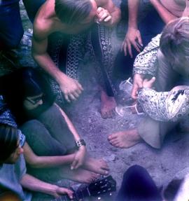 Hippies années 1960