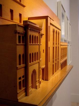 Extraordinaire maquette réalisée équipe Luc Laporte ARCHITECTE 2