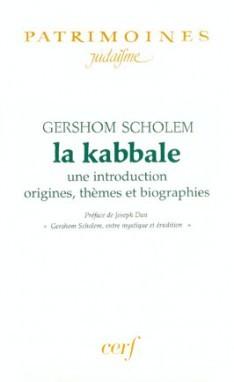 La Kabbale de Scholem