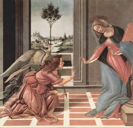 Sandro Botticelli Annunciazione