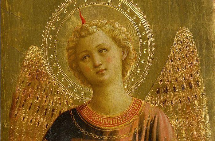 Fra Angelico gracieuseté de Pinterest