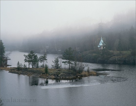 Morning fog over Monastery Bay – 2002
