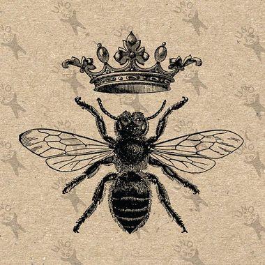Queen Bee Gracieuseté de Pinterest
