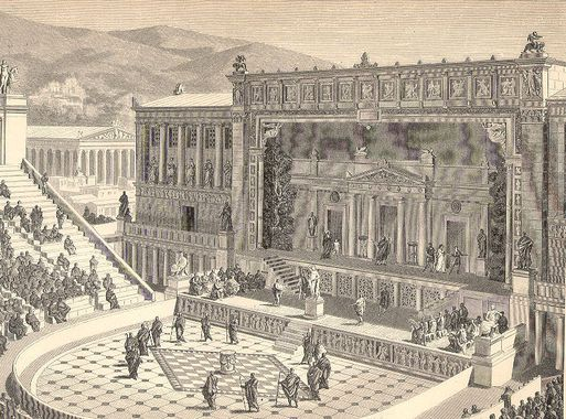 DionysiusTheater Bios politikos