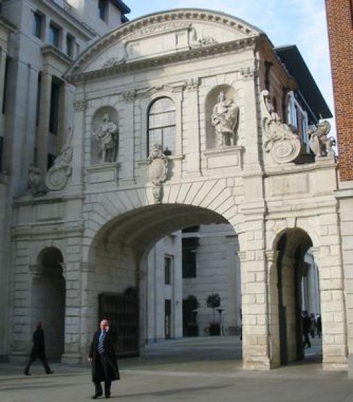Temple Bar Londres Gracieuseté Wikipedia