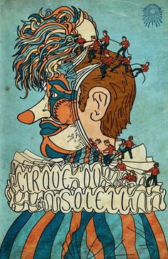 Poster Cirque du Soleil gracieuseté de Pinterest